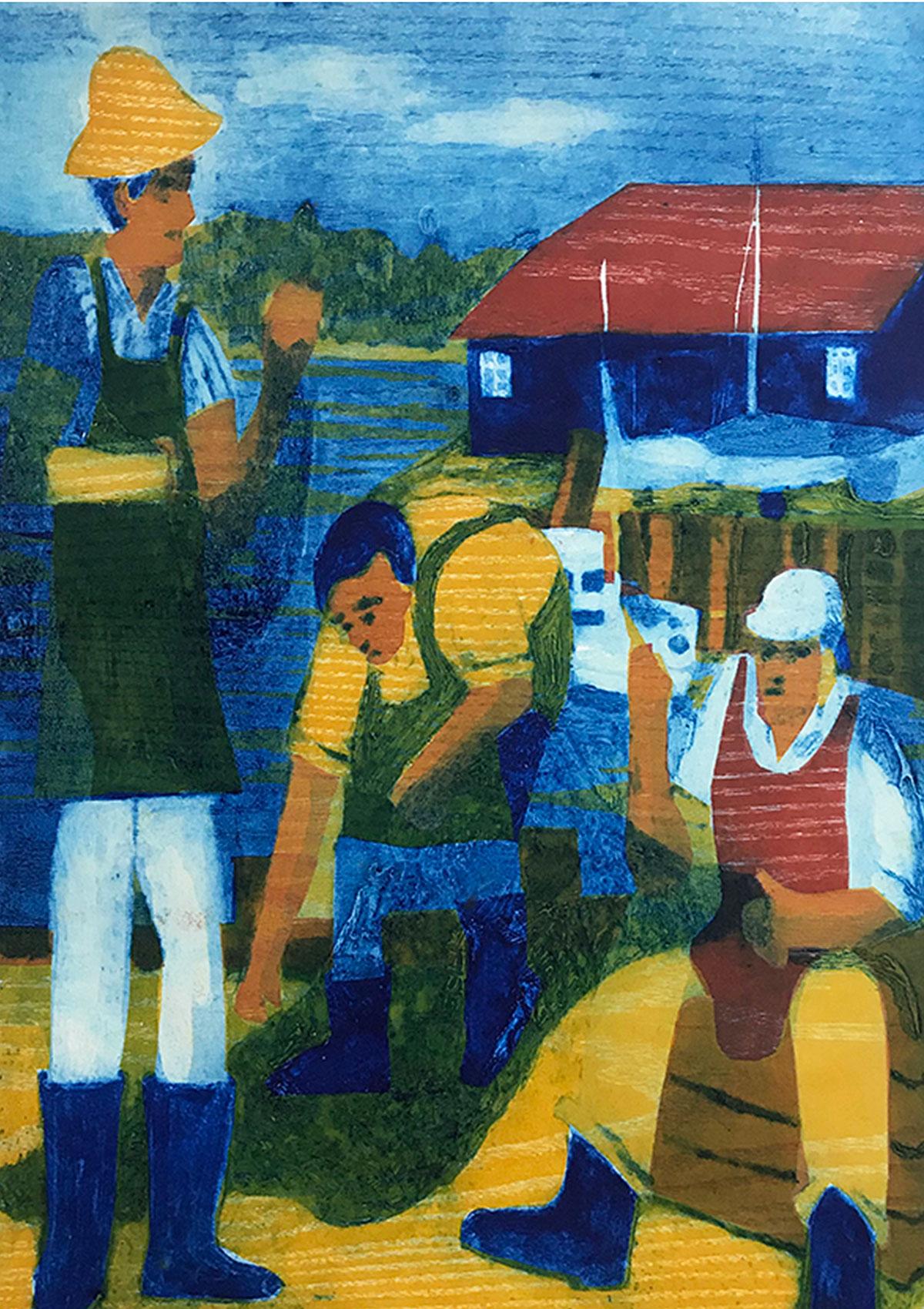 The fishermen in Bosham